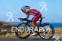 Ian Mikelson on bike at the 2011 Ford Ironman World…