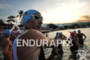 Age group athletes before the swim start of…