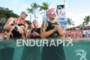 Age group athletes before the swim start of the 2011…
