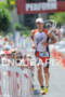 Andi Boecherer at Hot Corner running up Palani Road after…