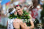 Andreas Raelert congratulates Pete Jacobs at the 2011 Ford Ironman…