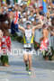 Pete Jacobs finishes the 2011 Ford Ironman World…