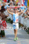 Dirk Bockel finishes the 2011 Ford Ironman World Championship in…