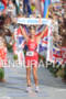 Chrissie Wellington wins the 2011 Ford Ironman World Championship in…
