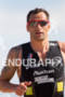 Stephane Poulat (FRA) on run at the 2011 Ford Ironman…
