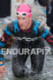 Meredith Kessler exits water at the  Ironman 70.3 California on…