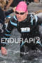 Melanie McQuade exits water at the  Ironman 70.3 California on…