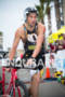 Jesse Thomas exits T1 at the  Ironman 70.3…
