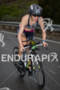 Heather Jackson on bike at the  Ironman 70.3 California on…