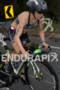 Heather Jackson on bike at the  Ironman 70.3…