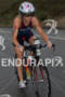 Magali Tisseyre on bike at the  Ironman 70.3 California on…
