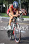 Alicia Kaye on bike at the St. Anthony's Triathlon on…