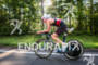 Joe Umphenour on bike at the Ironman Texas on May…