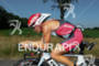 Mary Beth Ellis on bike at the Ironman Texas on…