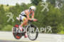 Ian Mikelson on bik at the Ironman Coeur…