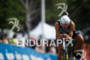 Matthew Russel on the bike at the Ironman…