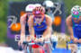 Javier GOMEZ (ESP) on the bike with Alistair BROWNLEE (GBR)…