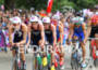 Alistair BROWNLEE (GBR) and Jonathan BROWNLEE (GBR) leading the bike…