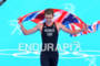 Gold Medalist Alistair BROWNLEE (GBR) crossing the finish…