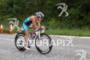 Heather Gollnick on bike at the 2012 Ironman…