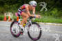 Hillary Biscay on bike at the 2012 Ironman…