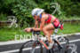 Dee Dee Griesbauer on bike at the 2012 Ironman U.S.…