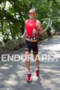 Luke Bell on run at the 2012 Ironman…