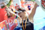 Anja Beranek wins at the Ironman 70.3 European Championship on…