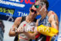 Craig Alexander shares a word with Sebastian Kienle…