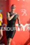 Caroline Steffen exits swim at 2012 Hawaiian Ironman Triathlon