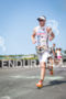 Paul Matthews on the run at the Ironman…