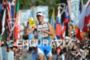 Andreas Raelert at the finish line at the Ironman World…