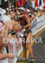 Faris Al-Sultan near the finish of the Ironman…