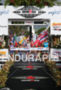 Leanda Cave winning the Ironman World Championship in Kailua-Kona, Hawaii…