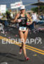 Ellen Hart on the run at the Ironman…