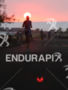 Sunset runner at the Natural Energy Labs in the Ironman…