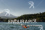 Pro swimming with Villarica Volcano in the background…