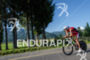 Reinaldo Colucci pushing it hard during the Ironman…