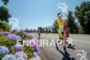 Running among flowers at the Ironman 70.3 Pucon…