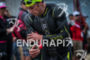 Jesse Thomas exits water at the  Ironman 70.3…