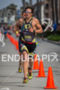 Jesse Thomas on run at the  Ironman 70.3 California on…