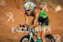 Charisa Wernick on bike at the  Ironman 70.3…