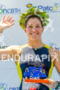 Race winner, olympian triathlete, Pamella Oliveira  at 2013…