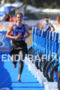 Alistair Brownlee (GBR) runs into T1 for the…