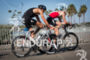 Jan Frodeno (GER) Benjamin Shaw (ITU) rotate turns…