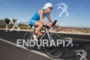 Julia Gajer on bike at tthe 2013 Ironman 70.3 St.…