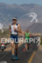 Sebastian Kienle working hard on the run during…