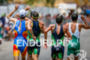 Elite Men try to keep cool during the run at…