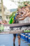 Igor Amorelli celebrates with the crowd at 2013 Ironman Brazil…