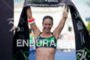 Amanda Stevens wins the race at 2013 Ironman Brazil in…